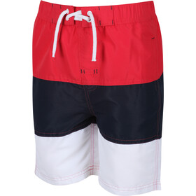 Regatta Shaul III Board Shorts Kids true red/navy